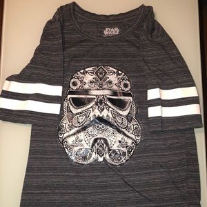 Woman's Star Wars shirt